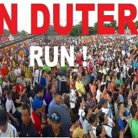 DUTERTE NOT RUNNING; CLARIFIES MILLION PEOPLE MARCH TEXT MESSAGE