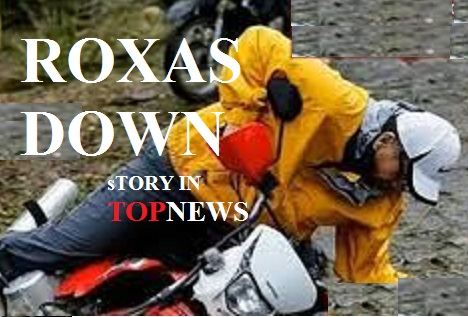 ROXAS CRASHING HIS MOTORCYCLE WHILE VISITING YOLANDA TYPHOON VICTIMS IN EASTERN VISAYAS IS SEEN AS A BAD OMEN OF AN OMINOUS DEFEAT IN THE 2016 PRESIDENTIAL RACE