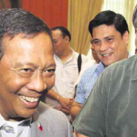 HONASAN: ENRILE, ERAP BACKING UP BINAY