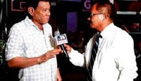 manny pinol & mayor rodrigo duterte