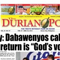 DAVAO DEATH SQUAD KILLINGS GOD'S WILL?