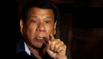 DUTERTE: NO NEGOTIATION WITH MAUTE TERRORISTS