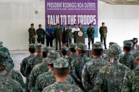 DUTERTE TROOPS
