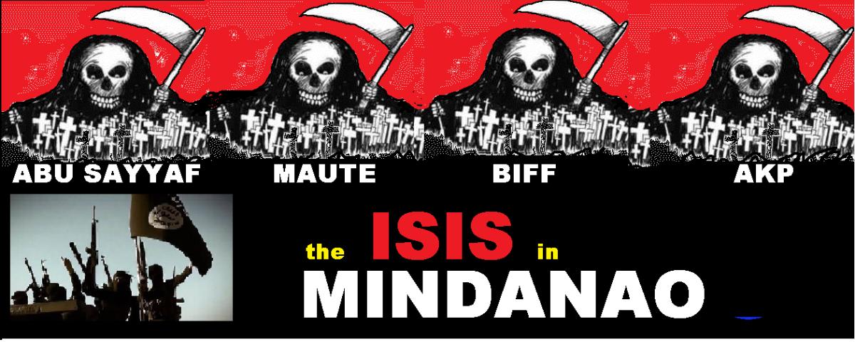 4 MINDANAO TERRORIST GROUPS LINKED TO ISIS
