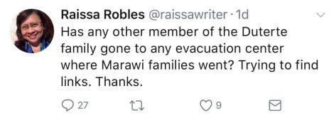 robles twit