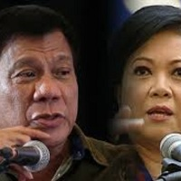 DUTERTE STAYS OFF SERENO IMPEACHMENT CASE
