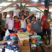 ROGER BALANZA & FAMILY AT SIGALID BEACH, MATINA APLAYA, DAVAO CITY, MARCH 18