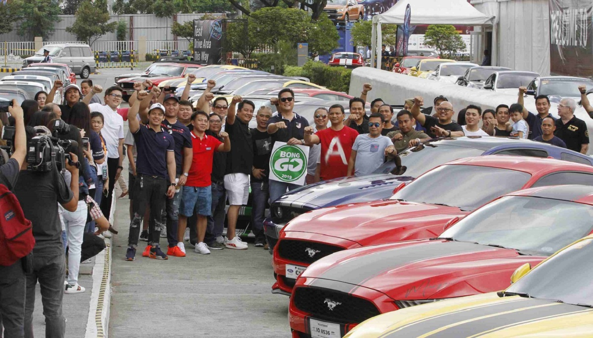 Car enthusiasts back SAP Bong Go for Senator