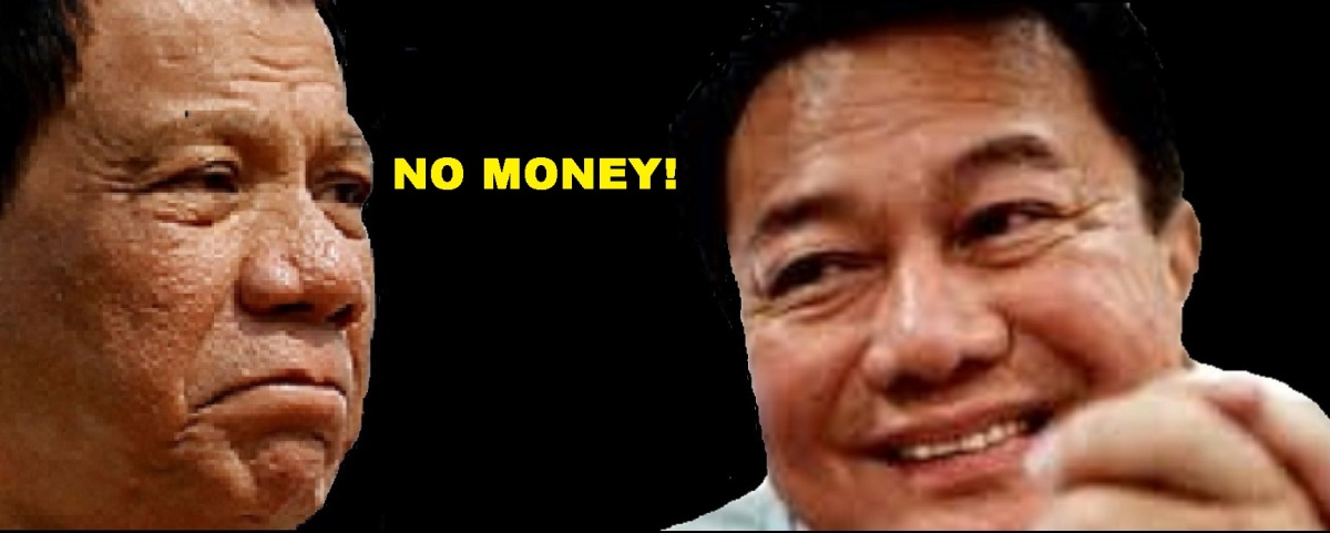 PDP-LABAN HAS NO CAMPAIGN FUNDS FOR ALVAREZ WING
