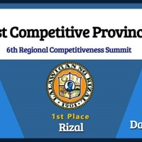 DAVAO DEL NORTE IS 2018 THIRD MOST COMPETITIVE PROVINCE