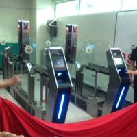 Bong Go, Morente open Immigration e-Gates at Davao Airport