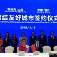 Davao City, Jinjiang City sign sisterhood pact