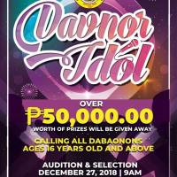 DAVNOR IDOL VOCAL SOLO COMPETITION