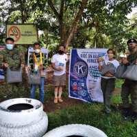 "DAVAO DELNORTE: Santo Tomas town, AFP, Kiwanis hold ""Fiesta sa Nayon"" for Ata-Manobos"